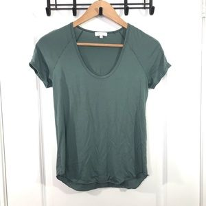 Wilfred XS Green Short Sleeve Top